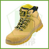 Ботинки рабочие с металлическим носком URGENT 124 S1_Yellow, нубук