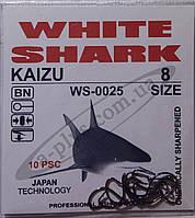 Крючок рыболовный / KAIZU / №8 / White Shark