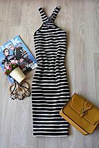 Новое облегающее платье в полоску Topshop, фото 3
