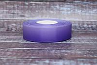 """Лента репсовая градиент 2.5 см """"Омбре фиолет + сирень """" оптом"""