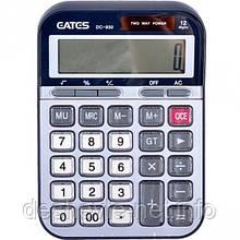 Калькулятор EATES DC-930 (12 разрядов,  2 питания)
