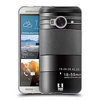 Силиконовый чехол для HTC One ME узор Фотокамера нео