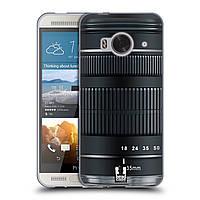 Силиконовый чехол для HTC One ME узор Фотокамера