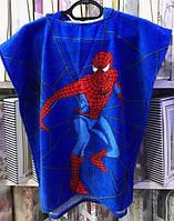 Детское пляжное полотенце пончо