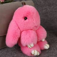 Брелок меховый Кролик Rex Fendi