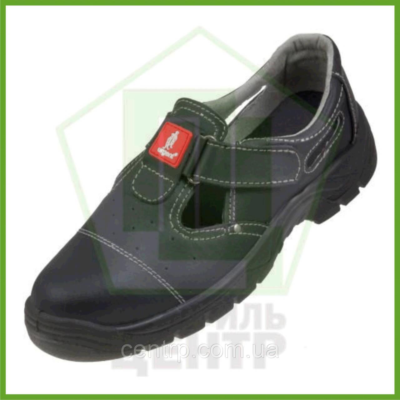 Сандали рабочие кожаные с металлическим носком URGENT 303 S1 (натур.кожа)