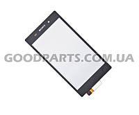 Тачскрин (сенсорный экран) для мобильного телефона Sony C6902 L39h Xperia Z1 (Копия)