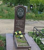 Памятник из ток токовского гранита № 364