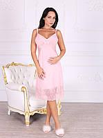 Ночная рубашка для женщины 331/M/рожевий в наличии M р., также есть: L,M,S,XL, Роксана_Дітекс