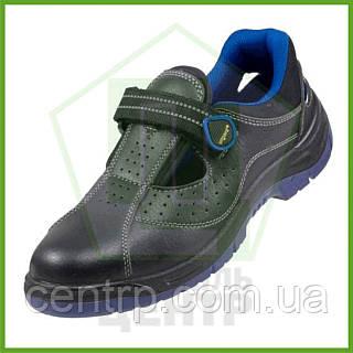 Сандали рабочие кожаные с металлическим носком URGENT 306 S1