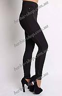 Стильные женские лосины с украшением 929