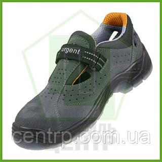 Сандали рабочие кожаные с металлическим носком URGENT 315 S1