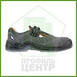 Сандали рабочие кожаные с металлическим носком URGENT 315 S1 TPU (натур.замша), фото 2