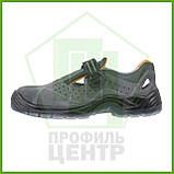 Сандали рабочие кожаные с металлическим носком URGENT 315 S1 TPU (натур.замша), фото 3