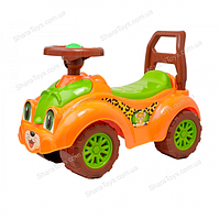 Детский автомобиль для прогулок (толокар), леопард