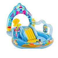 Игровой центр для детей Замок русалки Intex