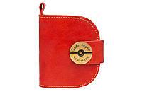 Компактний жіночий гаманець Domic red