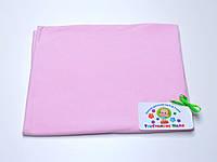 Трикотажные пеленки (розовый) РУНО