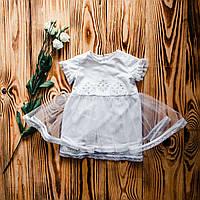 Платье-вышиванка для крещения ХП 08 ф