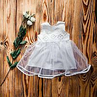 Платье красивое для крещения ХП 08 л + ф