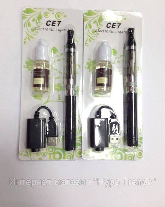 Электронная сигарета eGo CE7 + Жидкость.