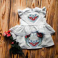 Платье нарядное для крещения ХП 07