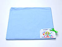 Трикотажные пеленки (голубой) РУНО