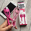 Цветные кабеля USB REMAX  для iPhone 7, фото 3