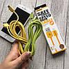 Цветные кабеля USB REMAX  для iPhone 7, фото 5