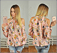 Яркая женская блузка к-t913293