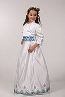 Платье украинское для причастия ПА 05