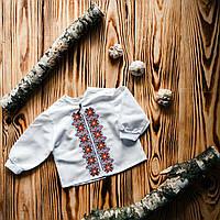 Костюм с вышивкой для мальчика для крещения ХК 02
