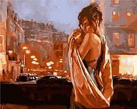 Живопись по номерам Mariposa Объятия ночного города Худ Марк Спейн (MR-Q914) 40 х 50 см