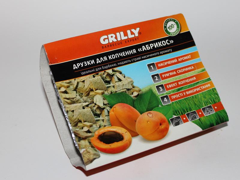 Щепа для копчения абрикос