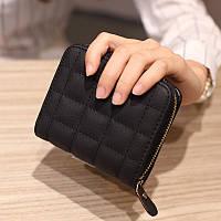 Женский кошелек Baellerry Mini компактний черный