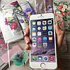 Силиконовый чехол на iPhone 7 цветочный принт, фото 3