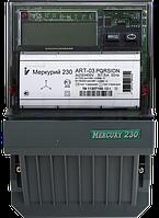 Электросчетчик однофазный многотарифный активной и реактивной энергии МЕРКУРИЙ 230 ART-03 PQRSIGDN (5-7.5А)