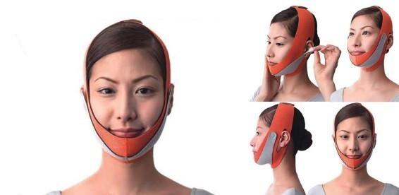 Маска-бандаж для коррекции овала лица,второй подбородок, щеки