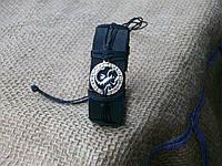 Браслет из кожи знак зодиака  РАК на руку, ручная работа, ювелирная бижутерия