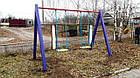 Качеля детская 2-местная игровая уличная, фото 2