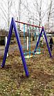 Качеля детская 2-местная игровая уличная, фото 3