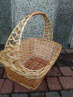 Плетеная корзина из лозы, фото 1