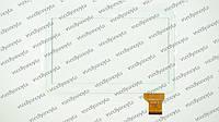 """Тачскрин (сенсорное стекло) для Assistant AP-115G, ZJ-10019A, 10,1"""", внешний размер 240*163 мм, рабочая часть 224*127 мм.,  50pin, белый"""