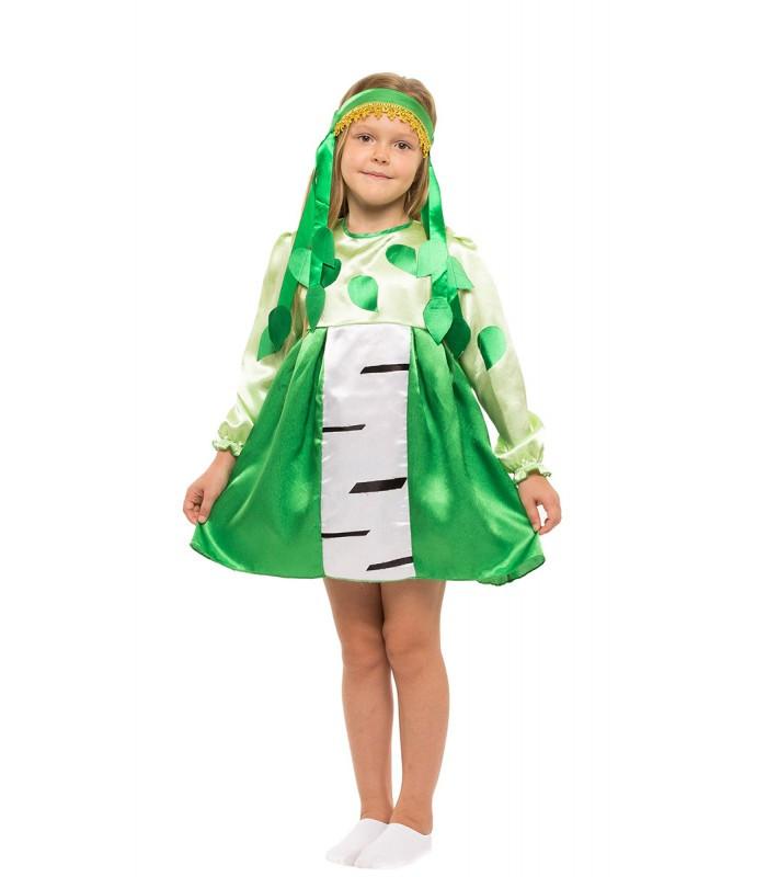 Карнавальный костюм Березки весенний на праздник Весны (4-8 лет)