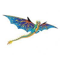 Воздушный змей WindnSun Синий Дракон 3D 1930 х 1600 мм (72101)