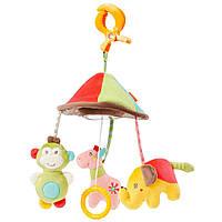 """Fehn подвесная игрушка - развивающая пирамидка """"Сафари"""" / Mini Mobile - Safari™"""