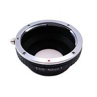 Адаптер переходник Canon EOS - Nikon 1 J1, кольцо