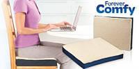 Гелевая подушка Forever Comfy, подушка для сидений Фореве Комфи, ортопедическое сиденье, подушка на стул