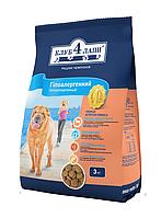 Клуб 4 Лапы гипоаллергенный корм для собак с ягненком и рисом, 12 кг