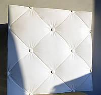 """Гипсовые 3D панели для стен  """"Кожа"""", 500х500"""